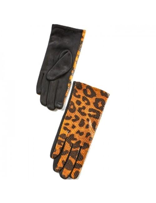 Γυναικεία γάντια verde 02-0000538 Κίτρινο-Animal