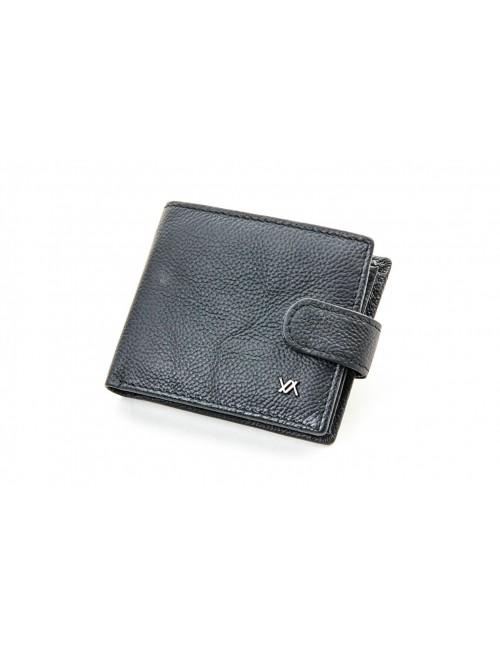 Ανδρικο πορτοφόλι δέρμα verde 09-000132 μαυρο