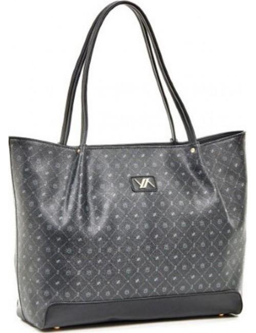 Τσάντα γυναικεία ώμου Verde 16-5936-black