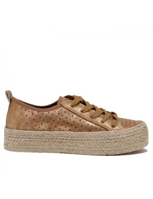 Γυναικείο sneakers VERDE 28-0002759 ΧΡΥΣΟ