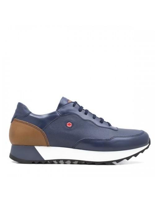 Ανδρικό sneaker δερμάτινο  Robinson μπλε