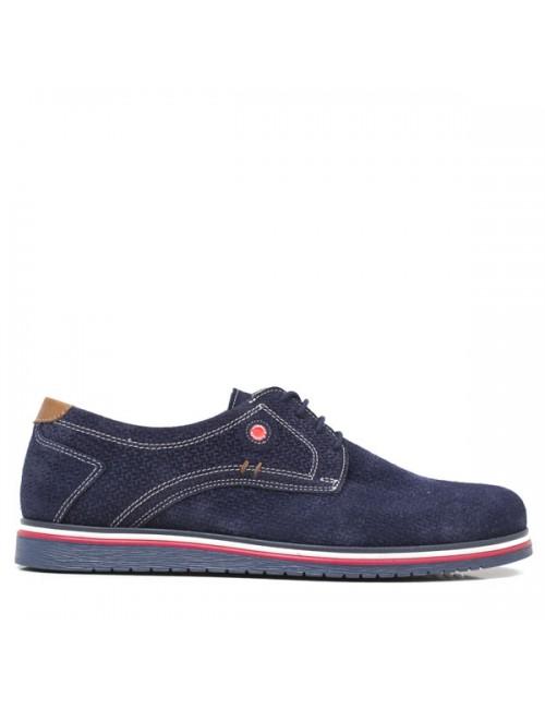 Ανδρικό loafer μπλε suede Robinson
