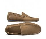 Ανδρικό μοκασίνι Pueblo shoes ταμπά