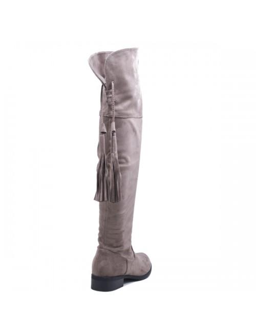 Γυναικεία μπότα EXE x153-e10 Καστόρι Γκρί