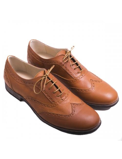 Ανδρικό loafers ταμπά δερμάτινο ROBINSON
