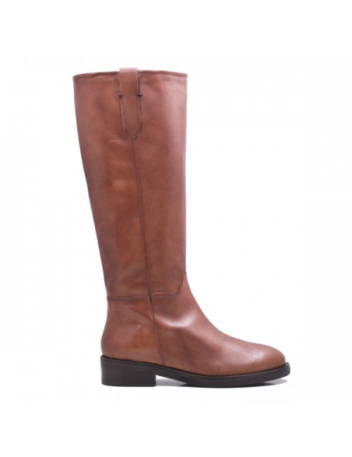 Γυναικεία μπότα Paola Ferri 4250 Αδιάβροχη Δερμάτινη Ταμπά